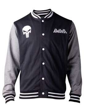 bluza/kurtka THE PUNISHER - MARVEL, rozpinana