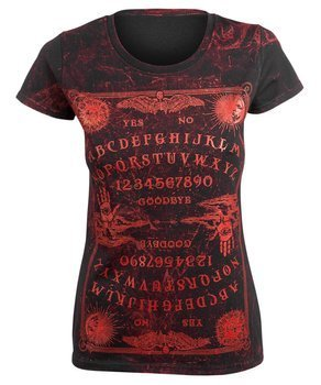 bluzka damska AMENOMEN - OUIJA 3 (OMEN114DA ALLPRINT RED)