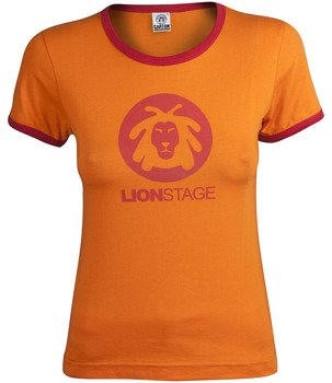 bluzka damska LION STAGE orange