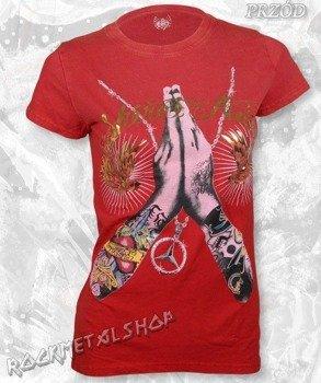 bluzka damska SHIROI NEKO/MODERMIZZINE - (RED)