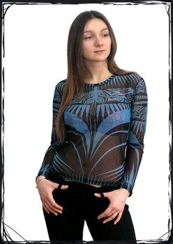bluzka damska TRIBAL BLUE