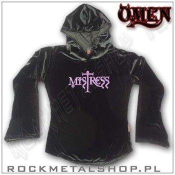 bluzka damska z kapturem MISTRESS (velvet), firma OMEN (809)