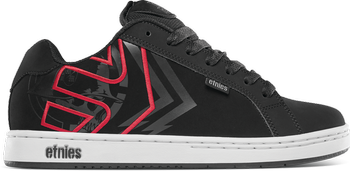 buty METAL MULISHA - ETNIES FADER BLACK WHITE RED