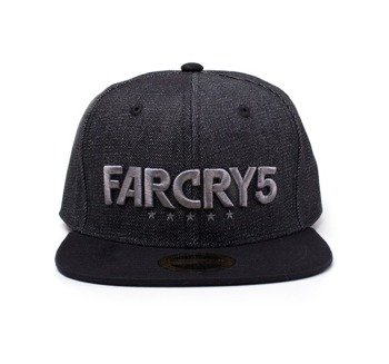 czapka FAR CRY 5 - BLACK DENIM LOGO