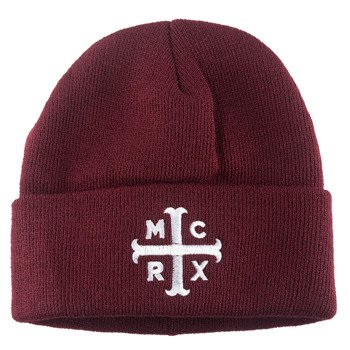 czapka MY CHEMICAL ROMANCE - MCRX LOGO, zimowa