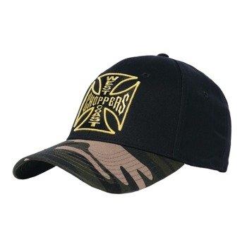 czapka WEST COAST CHOPPERS - WCC CAMO WARRIOR BLACK