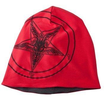 czapka zimowa AMENOMEN - GOAT (OMEN001CZAP) RED GRAY