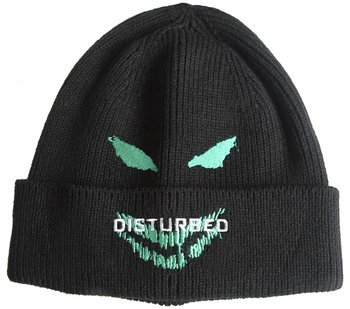czapka zimowa DISTURBED - GREEN FACE
