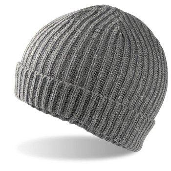 czapka zimowa HEATHER GREY
