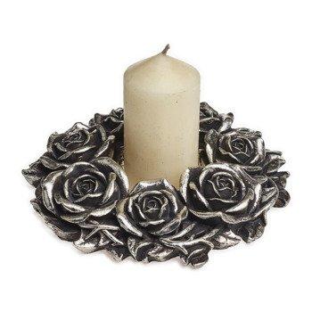 dekoracja BLACK ROSE WREATH
