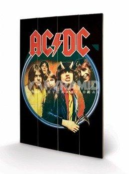 dekoracja/obraz na drewnie AC/DC (GROUP)