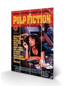 dekoracja/obraz na drewnie PULP FICTION - COVER