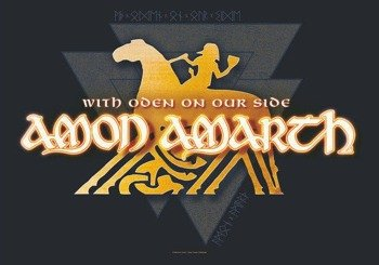 flaga AMON AMARTH - WITH ODEN ON OUR SIDE