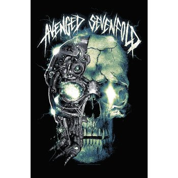 flaga AVENGED SEVENFOLD - MECHANICAL SKULL