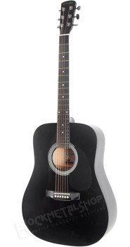 gitara akustyczna GRIMSHAW GSD-20-BK DREADNOUGHT Black