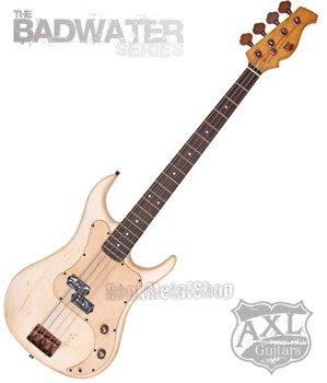 gitara basowa AXL BADWATER / OFF WHITE