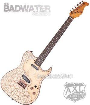 gitara elektryczna AXL / EL DORADO TELE / WHITE CRACKLE