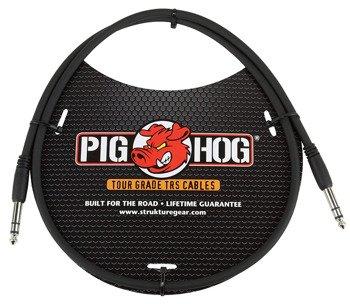 kabel audio PIG HOG PTRS03 / JACK prosty/prosty 6,3mm TRS STEREO / 0,9m