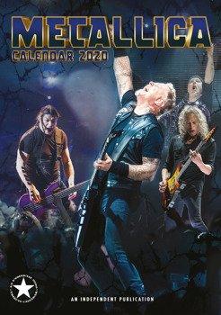 kalendarz METALLICA 2020