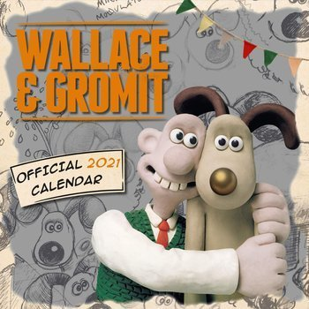 kalendarz WALLACE & GROMIT 2021
