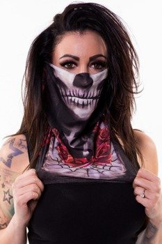 komin LETHAL THREAT - DARK WIDOW FACE MASK
