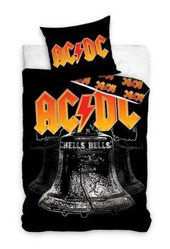 komplet pościelowy AC/DC - HELLS BELLS, kołdra (140*200) + poduszka (70*80)