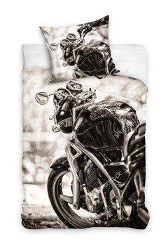 komplet pościelowy MOTORCYCLE, kołdra (160*200) + poduszka (70*80)