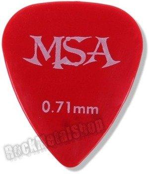kostka gitarowa MSA RED