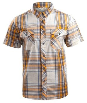 koszula ROADSTAR SHIRT, 1/2 SLEEVE - SAND YELLOW