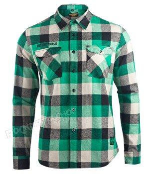 koszula WEST COAST CHOPPERS - EL DIABLO GREEN