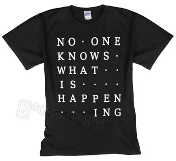 koszulka 65DAYSOFSTATIC - NO ONE KNOWS