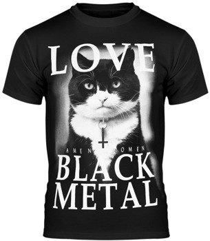 koszulka AMENOMEN - LOVE BLACK METAL (OMEN123KM)