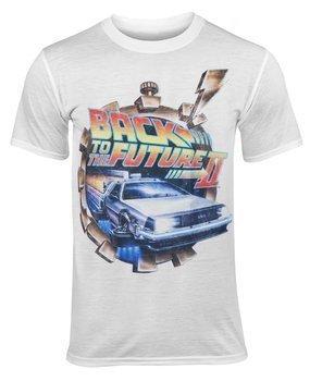 koszulka BACK TO THE FUTURE - PART II VINTAGE, USZKODZONE