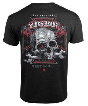 koszulka BLACK HEART - REPAIRMAN BLACK