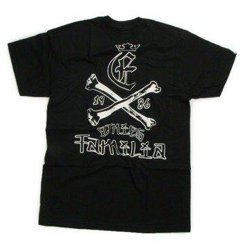 koszulka ETNIES - BONES (BLACK) 09'
