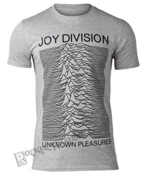 koszulka JOY DIVISION - UNKNOWN PLEASURES szary melanż, USZKODZONE