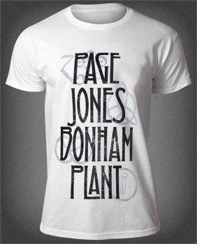 koszulka LED ZEPPELIN - PAGE JONES BONHAM PLANT