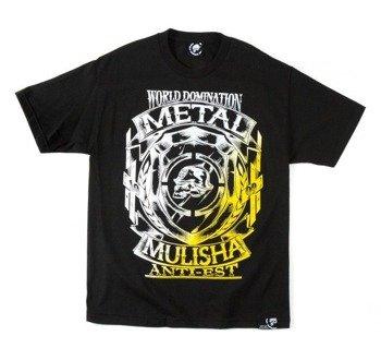 koszulka METAL MULISHA - ARMS czarna