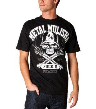koszulka METAL MULISHA - M.M.F.U. czarna