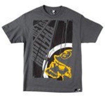 koszulka METAL MULISHA - TITLE szara