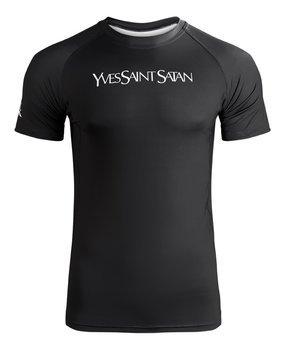 koszulka RASHGUARDS HOLY BLVK - YVES SAINT SATAN, techniczna