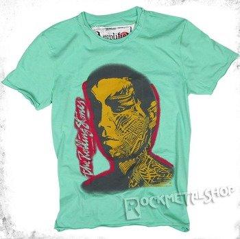 koszulka ROLLING STONES - TATOO YOU zielona