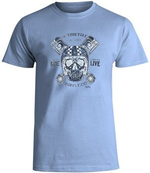 koszulka SMITHS - RIDE LIVE niebieska