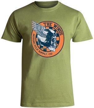 koszulka SMITHS - WINGS zielona
