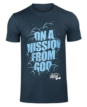 koszulka THE BLUES BROTHERS - ON A MISSION FROM GOD navy