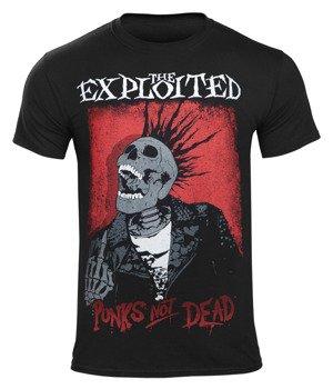 koszulka THE EXPLOITED - SPLATTER / PUNKS NOT DEAD