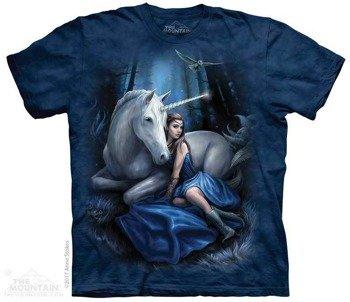 koszulka THE MOUNTAIN - BLUE MOON UNICORN, barwiona