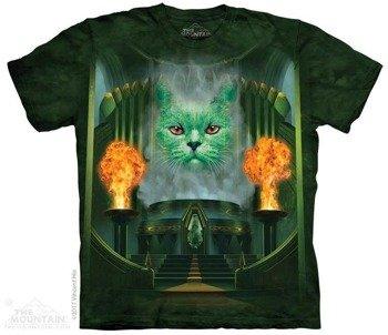 koszulka THE MOUNTAIN - CAT THE GREAT AND POWERFUL, barwiona