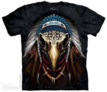 koszulka THE MOUNTAIN - Eagle Spirit Chief, barwiona
