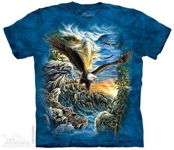 koszulka THE MOUNTAIN - FIND 11 EAGLES, barwiona